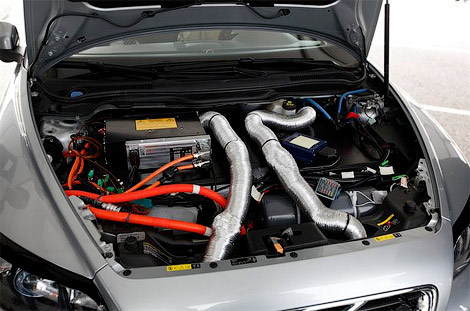 Электрический Volvo C30.