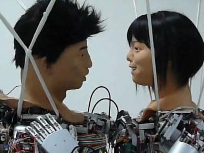 Роботы Томас и Дженет