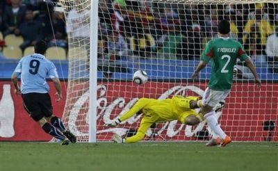 ЧМ-2010. Матч Мексика-Уругвай