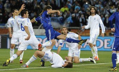ЧМ-2010. Матч Греция-Аргентина