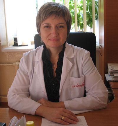 Заведующая женской консультацией донецкой центральной городской клинической больницы №1, кандидат медицинских наук Наталья Толкач