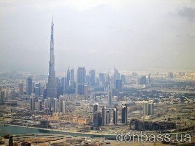 В Дубае открывают самый высокий небоскреб в мире (ФОТО)