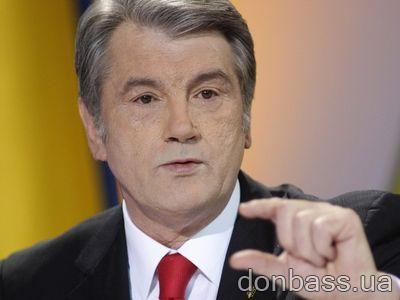Ющенко побил Шустера
