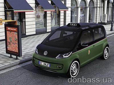 Volkswagen представил концепт электротакси (ФОТО)
