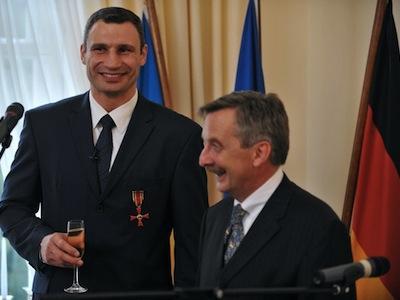 Виталия Кличко наградили немецким орденом