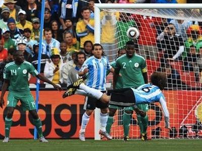 ЧМ-2010: ФИФА признала судейскую ошибку в матче Аргентина-Нигерия