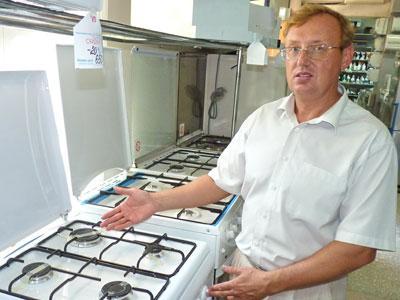 «Газ необходимо экономить, вводя энергосберегающие технологии в домашнем хозяйстве», - отмечает заммэра Краматорска Станислав Захаров.
