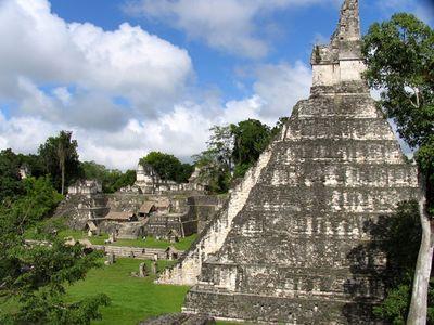 Найдены останки правителя индейцев майя