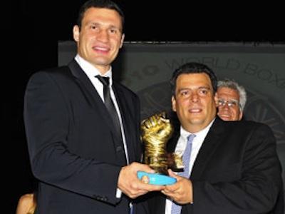 """Виталия Кличко назвали """"Чемпионом 2009 года"""""""