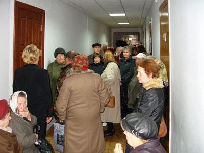 На прием к городскому голове жители проспекта Гагарина пришли дружно.