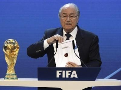 Россия стала хозяйкой Чемпионата мира по футболу 2018