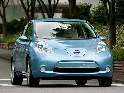 Электрокары Nissan Leaf снабжаются специальной системой мониторинга