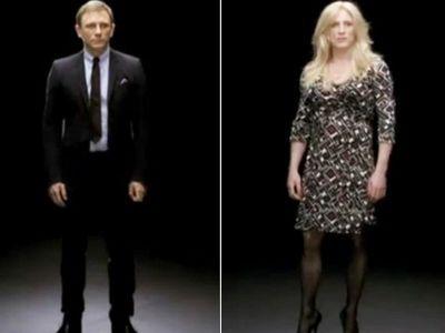 Агент 007 нарядился... в женское платье