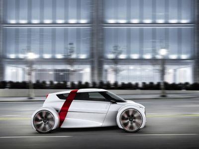 Audi urban concept: ультралегкий электрокар для мегаполиса (ФОТО)