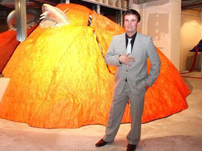 Франц Родвальд уверен, что терриконы вдохновят его еще не на одну работу.