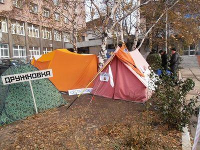 """В Донецке """"чернобыльцы"""" продолжают голодовку"""