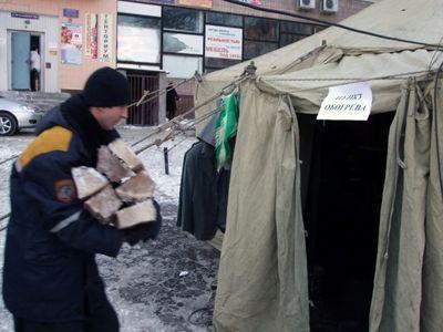 В Украине от холода умерли 18 человек