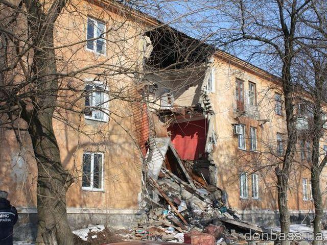 Жильцам рухнувшего в Макеевке дома обещают пять миллионов на квартиры