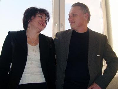 Людмила и Юрий уверяют, что их День влюбленных длится уже 30 лет.