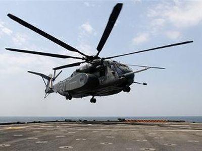 В регионе Персидского залива разбился военный вертолет США