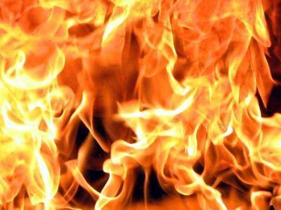 Загоревшийся под Ялтой лес тушат при помощи авиатехники