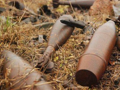 В Горловке и Славянском районе нашли минометные мины