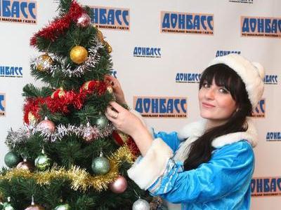 Аня Иванюк блестяще исполнила роль Снегурочки!