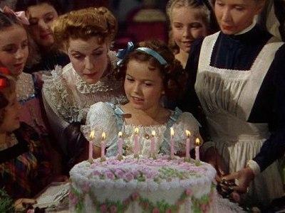 """Кадр из фильма """"Маленькая принцесса"""", 1939г."""
