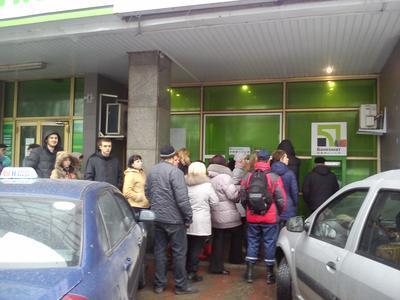 В Донецке началась паника: банкоматы не работают