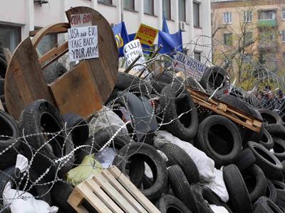 Митинг в Мариуполе закончился захватом мэрии и кровавым побоищем у здания милиции (ФОТО)