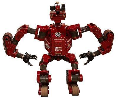 В США создан человекоподобный робот-спасатель