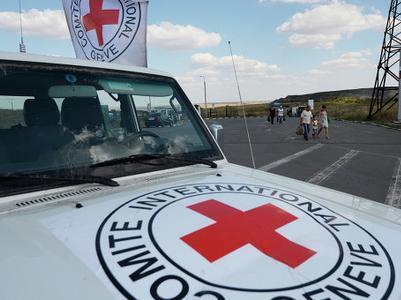 Представители Красного  Креста начнут работать на Донбассе