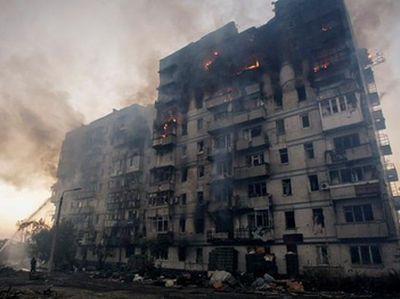 """""""Небольшой фрагмент кости, застрявший в дереве неподалеку"""": ОБСЕ предоставила отчет о вчерашнем кошмаре в Донецке"""