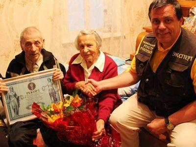 В Украине отыскали пару, которая вместе уже 70 лет. На двоих им - 190!