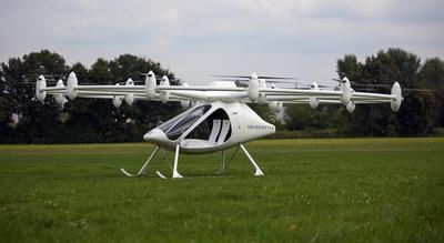 В Германии испытали летающее такси (ВИДЕО)