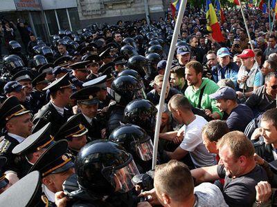 Молдова охвачена протестами