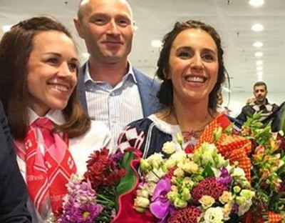 Как украинцы ожидали и встречали победительницу-Джамалу (ВИДЕО)