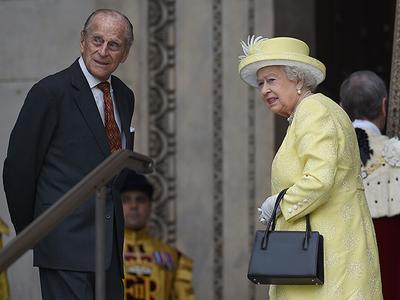 Сегодня в Лондоне начались празднования по случаю 90-летия королевы Елизаветы II (ФОТО)