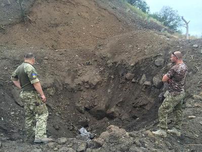 В Донецкой области военные саперы обезвредили более 600 кг взрывоопасных предметов (ФОТО)