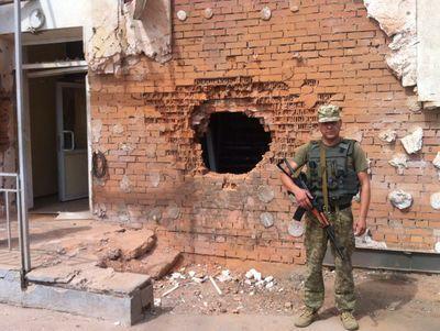 Журналист: слухи о полностью разбитой Авдеевке несколько преувеличены, но 70 снарядов прилетело