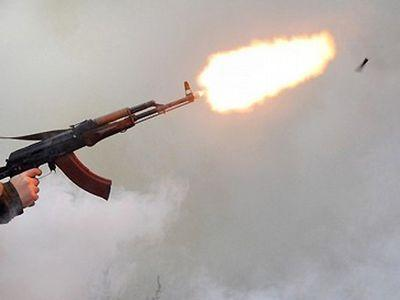 Бойовики напилися та вели вогонь з кулеметів та автоматів по житловому будинку у Саханці