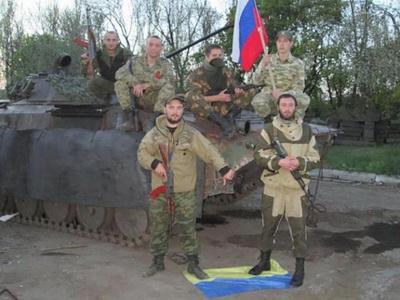 Россиянин топтавший флаг Украины остался без ног
