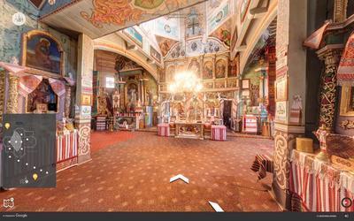 Google запустила виртуальную экскурсию по церквям Карпатского региона