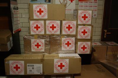 Международный Красный Крест привез жителям оккупированной Донетчины 333 тонны гуманитарной помощи