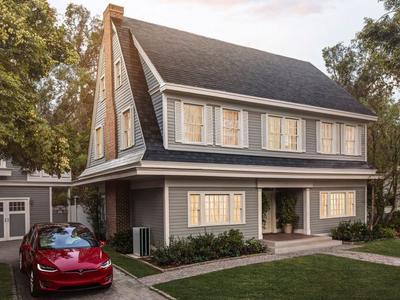 Tesla начала продажи «солнечной черепицы»