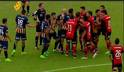 Кровавый матч: в Аргентине застрелили футбольного фаната