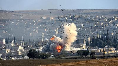 Коаліція на чолі з США завдала удару по Сирії