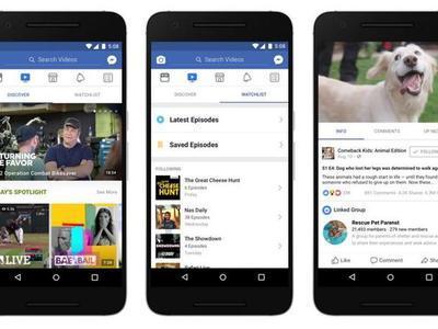 Facebook запустил конкурента YouTube
