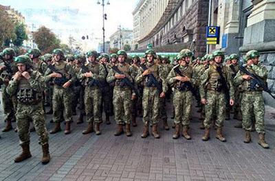 День Независимости Украины: появилось полное ВИДЕО военного парада на Крещатике