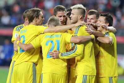 Букмекеры считают Украину бесспорным фаворитом в матче против Косово